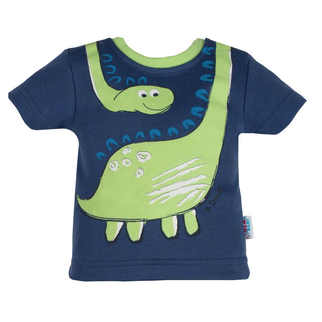 Kojenecké tričko s krátkým rukávem a tepláčky New Baby Dino
