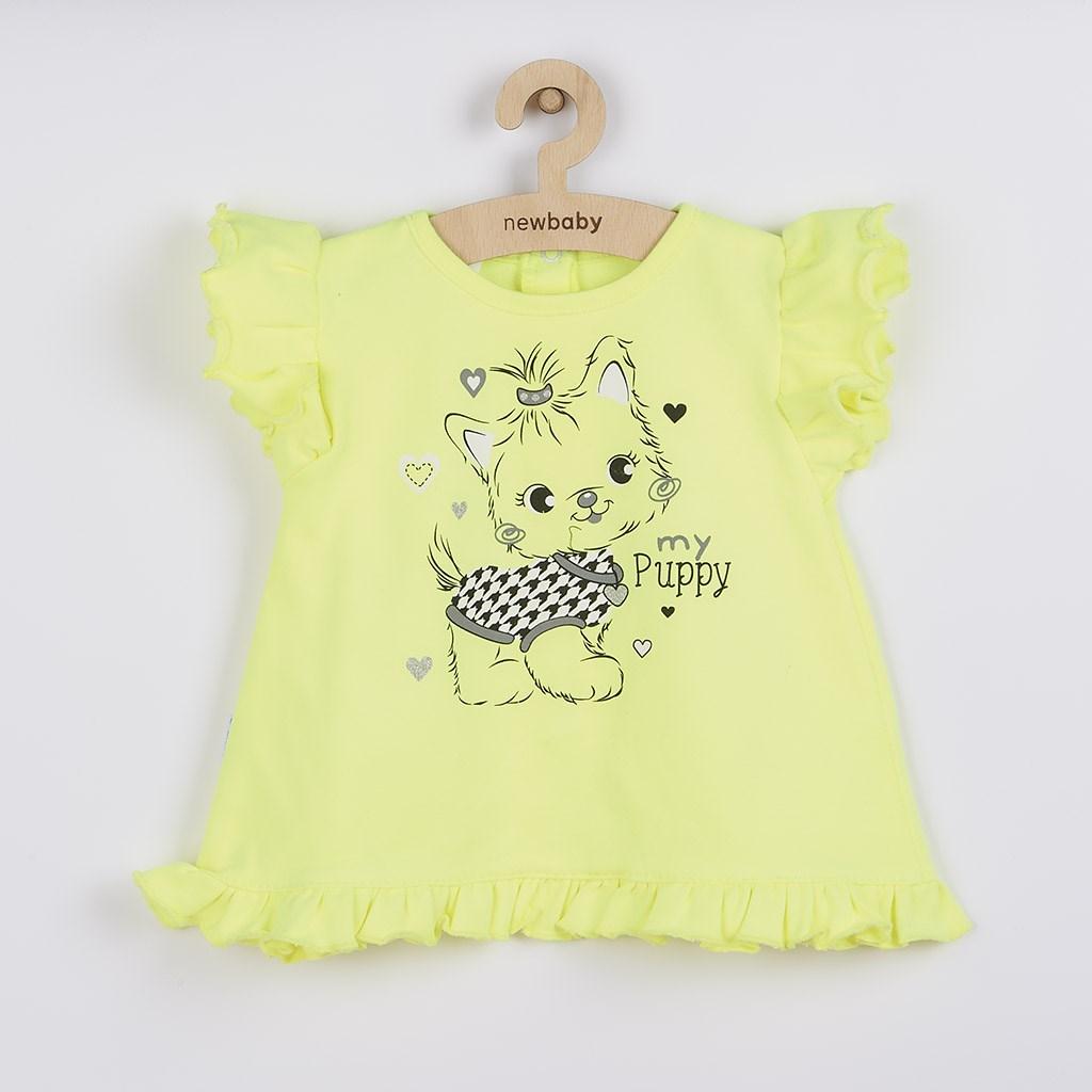 2-dílná letní holčičí souprava New Baby Puppy