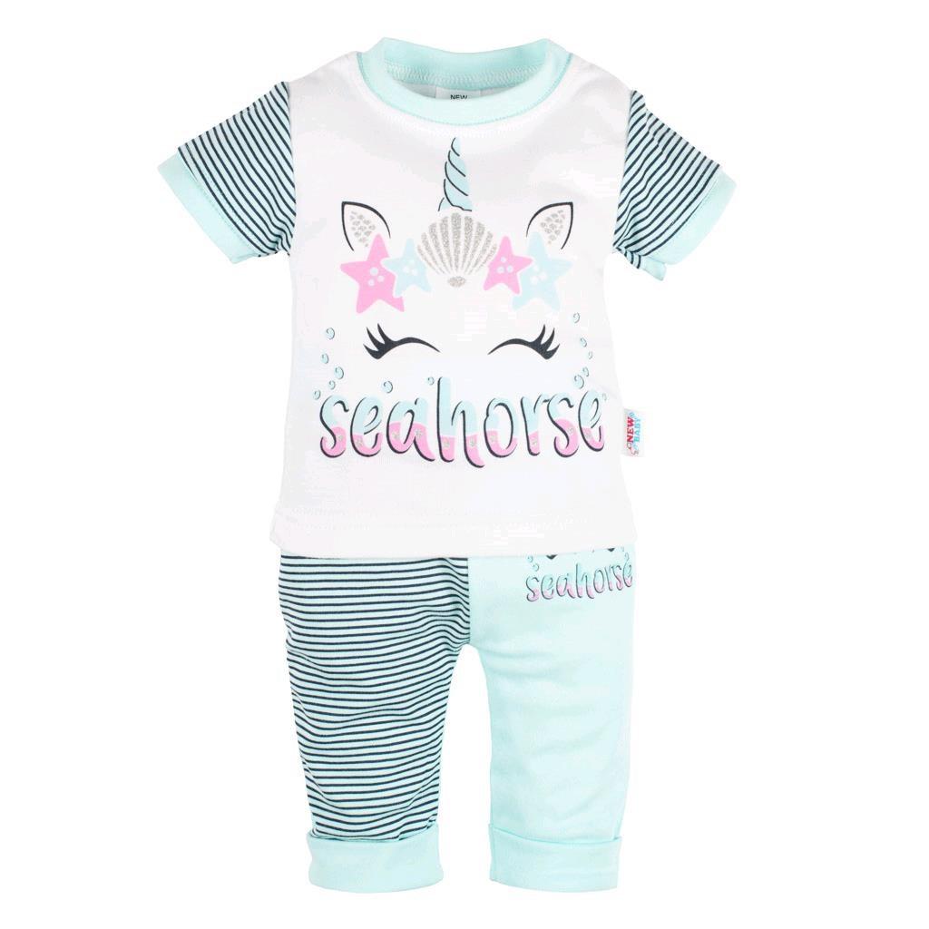 Kojenecké tričko s krátkým rukávem a tepláčky New Baby seahorse vel. 68 (4-6m)
