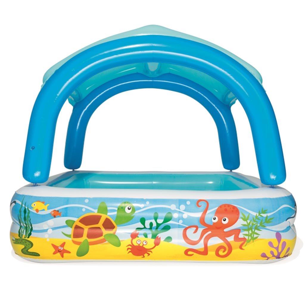 Dětský nafukovací bazén se stříškou Bestway moře