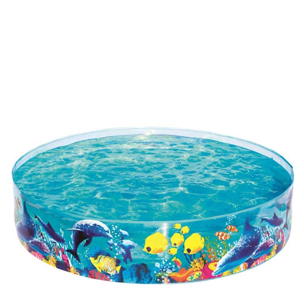 Dětský bazén s pevnou stěnou Bestway moře