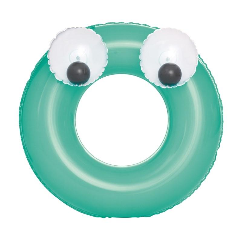 Dětský nafukovací kruh Bestway Big Eyes zelený