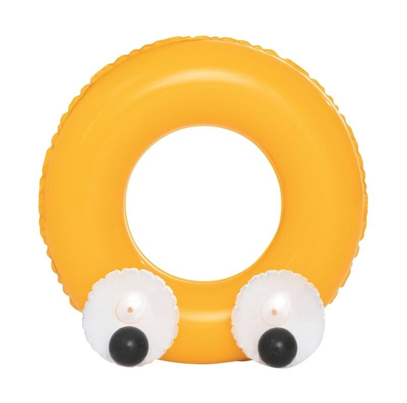 Dětský nafukovací kruh Bestway Big Eyes žlutý
