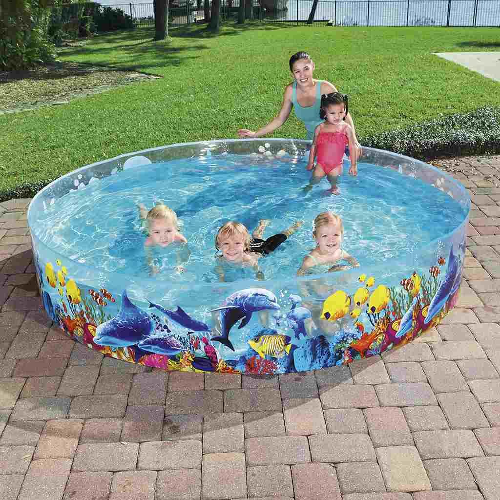 Dětský bazén s pevnou stěnou Bestway Sea