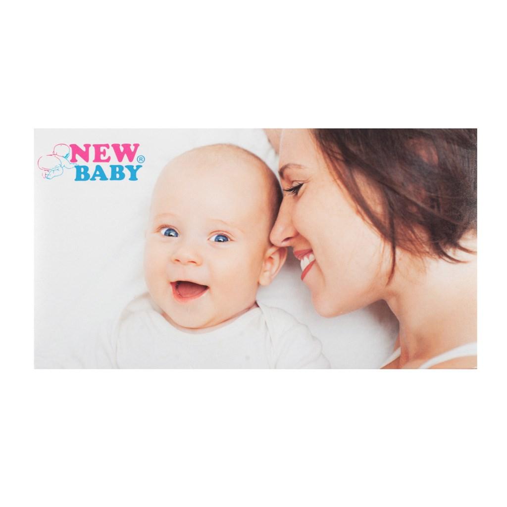 Polovyztužená kojící podprsenka New Baby Nina černá
