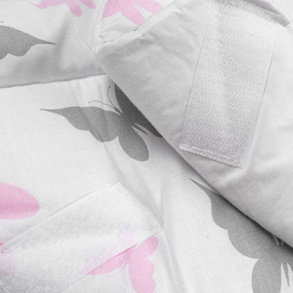 Dětská zavinovačka New Baby bílá motýli