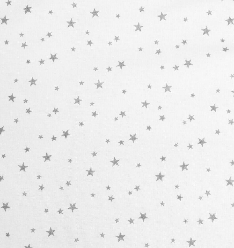 Dětská zavinovačka New Baby bílá šedé hvězdičky