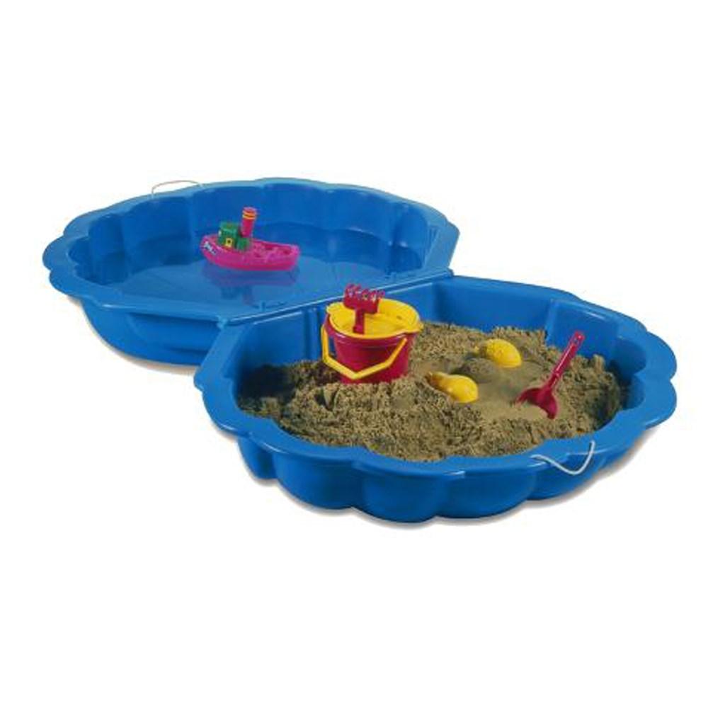 Pískoviště-bazének Mušle - 2 ks modré