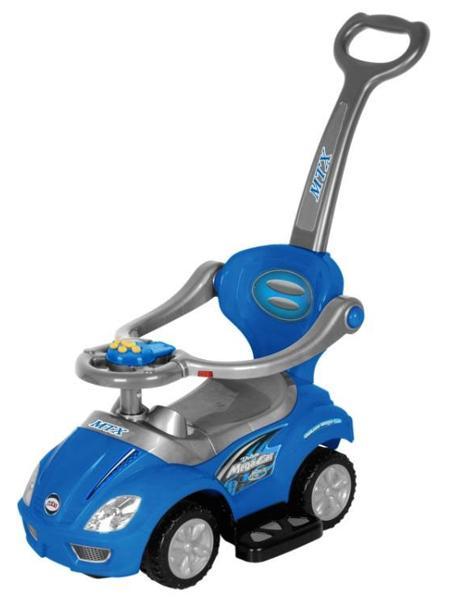 Dětské hrající jezdítko 3v1 Baby Mix blue