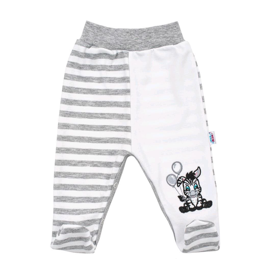Kojenecké bavlněné polodupačky New Baby Zebra exclusive vel. 74 (6-9m)
