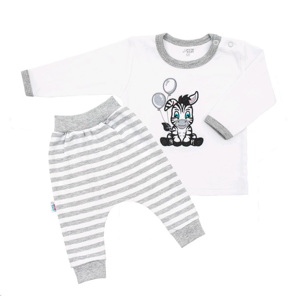 2-dílná kojenecká souprava New Baby Zebra exclusive vel. 74 (6-9m)