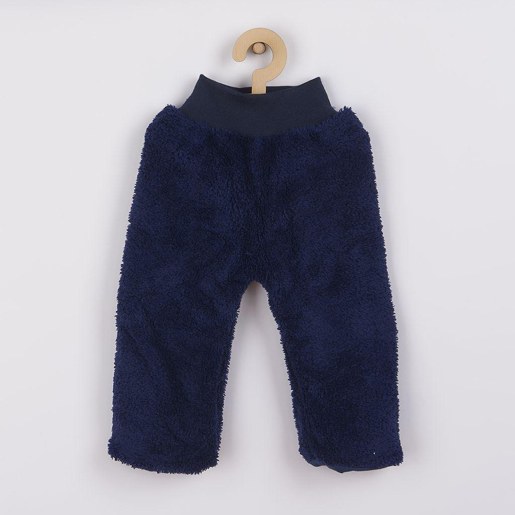 Zimní dětské tepláčky New Baby Penguin tmavě modré, 68 (4-6m)