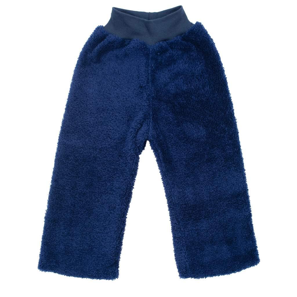 Zimní dětské tepláčky New Baby Penguin tmavě modré, 98 (2-3r)