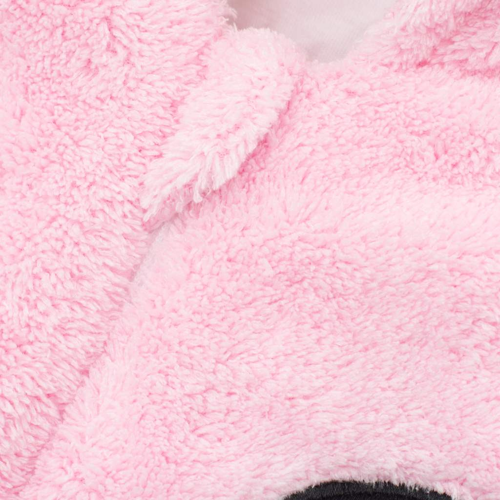 Zimní dětská kombinéza New Baby Penguin růžová