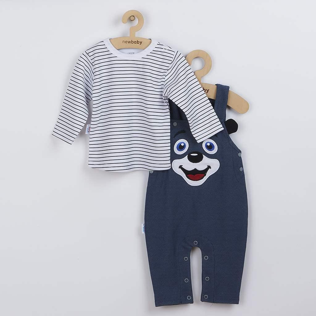 2-dílná kojenecká souprava New Baby For Babies modrá vel. 62 (3-6m)