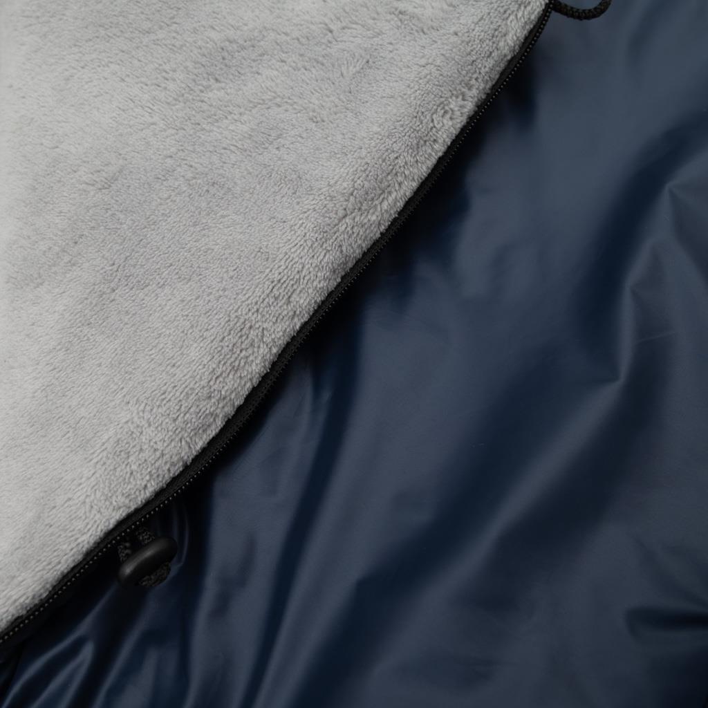 Dětský fusák New Baby 3v1 s kožíškem tmavě modrý