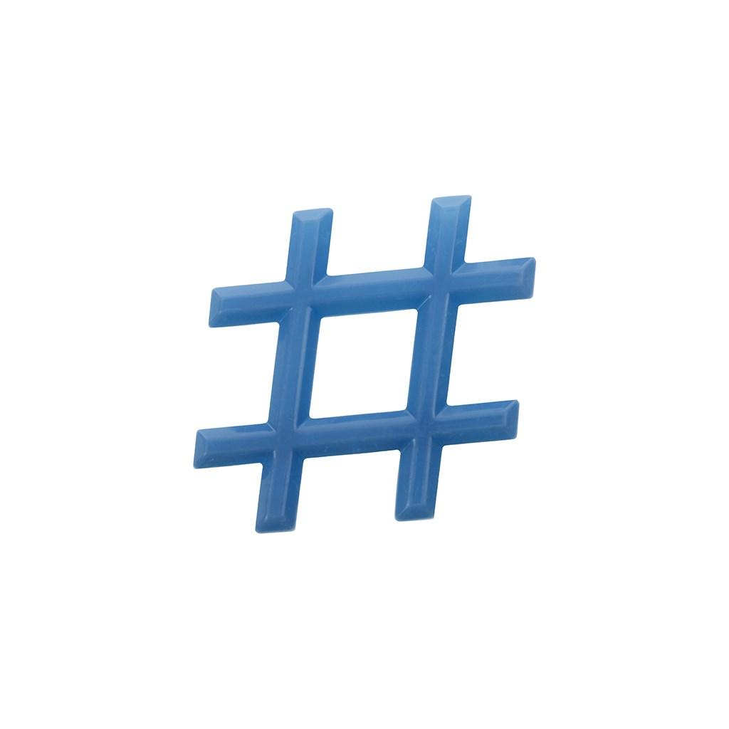 Chladící kousátko Akuku Hashtag modré