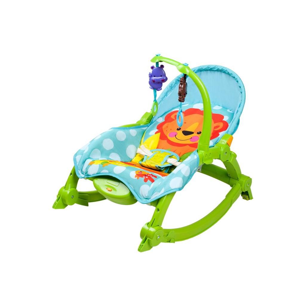 Dětské lehátko 2v1 Bayo green (poškozený obal)