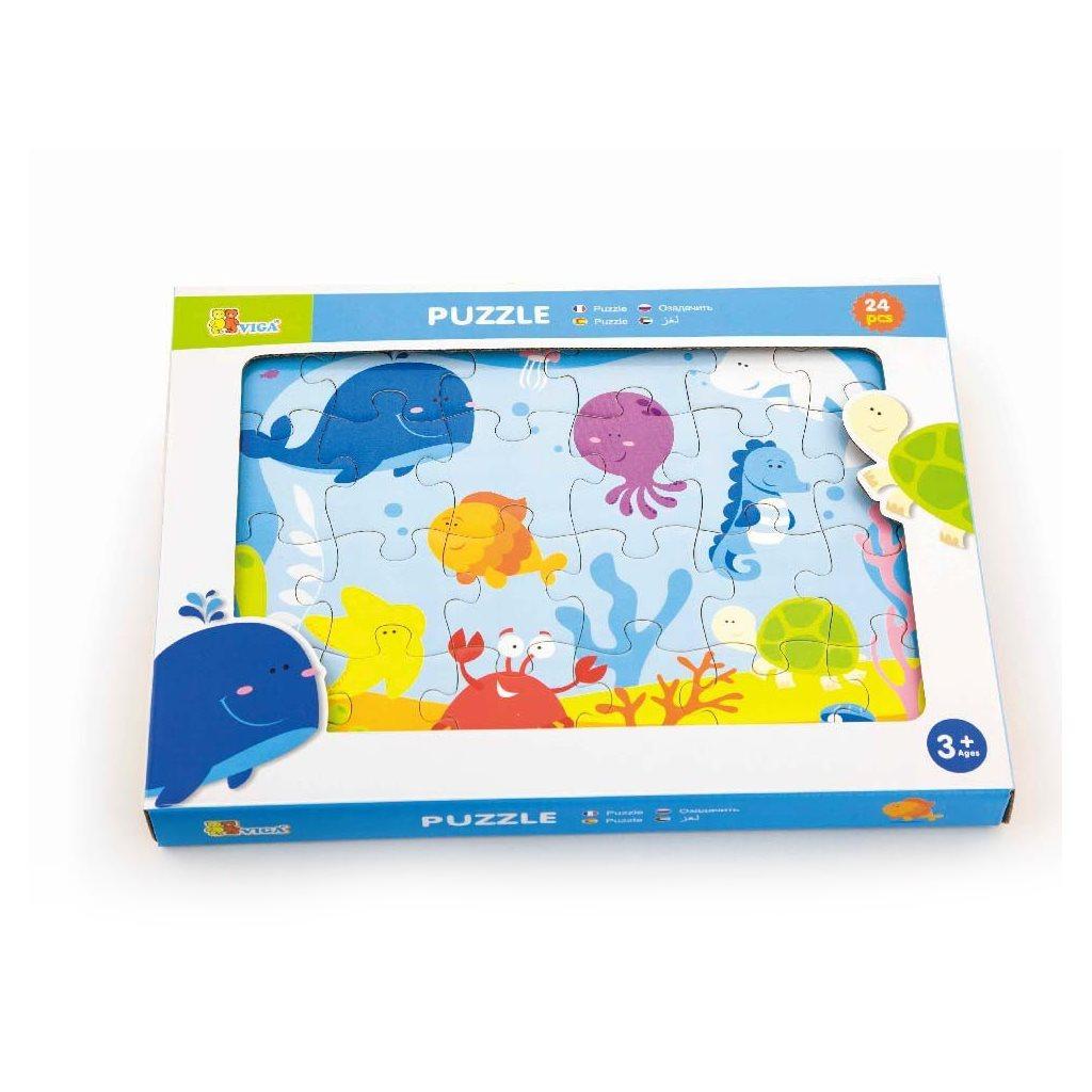 Dětské dřevěné puzzle Viga Oceán