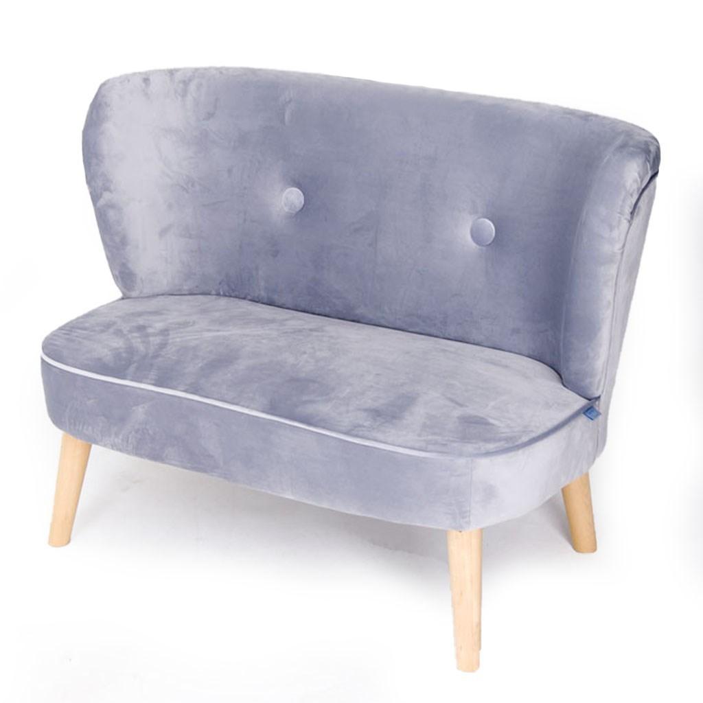 Dětská Retro pohovka sofa Drewex šedá