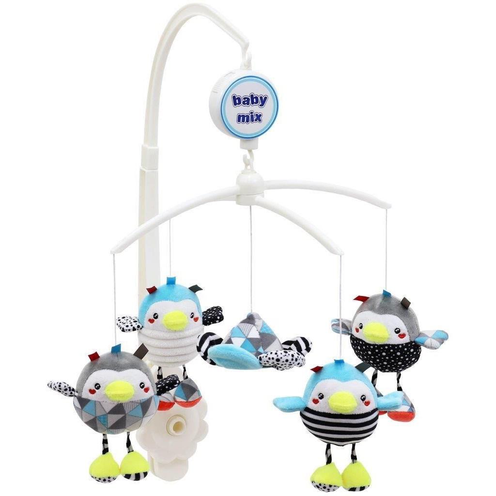 Kolotoč nad postýlku Baby Mix Tučňáci
