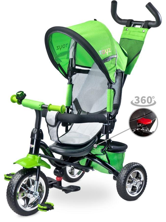 Dětská tříkolka Toyz Timmy green 2017 (poškozený obal)