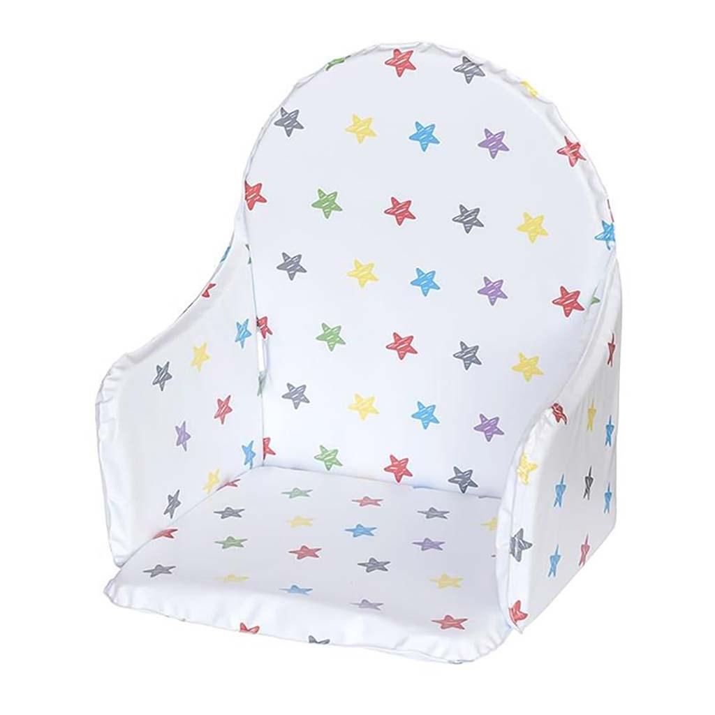 Vložka do dřevěných jídelních židliček typu New Baby Victory bílá hvězdy