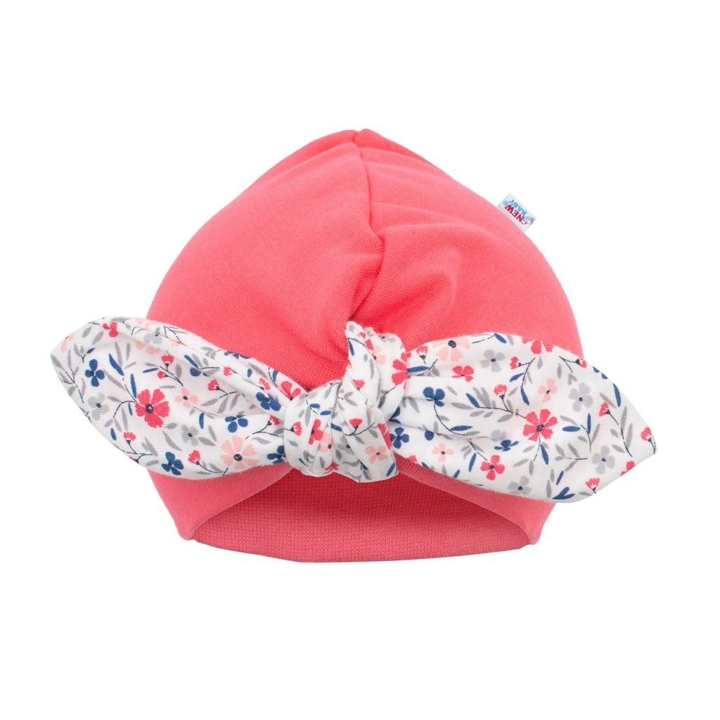 Dívčí čepička turban New Baby For Girls, 62 (3-6m)