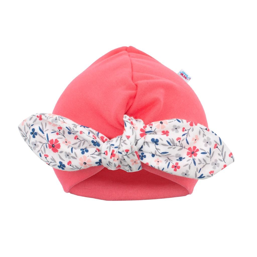 Dívčí čepička turban New Baby For Girls, 74 (6-9m)