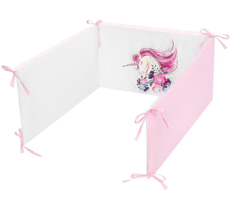 5-dílné ložní povlečení Belisima Unicorn 90/120