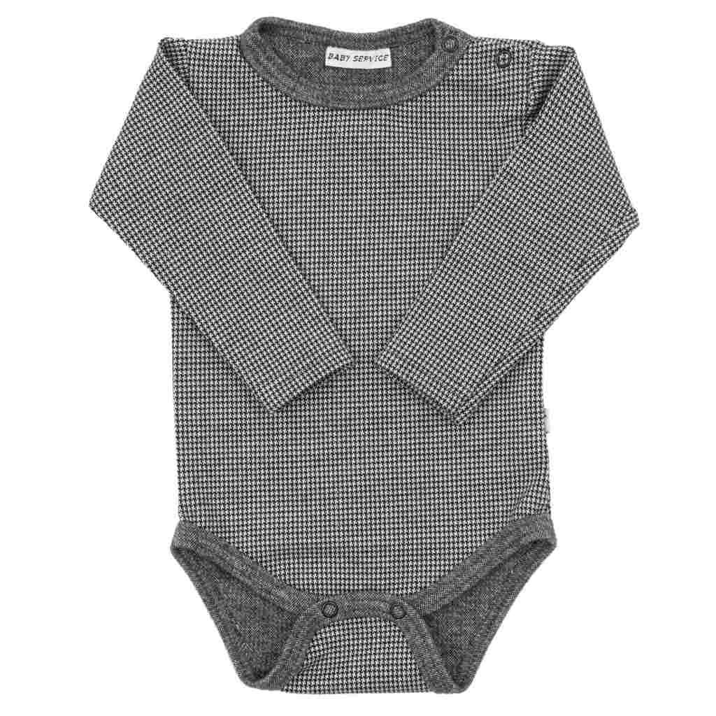 Zimní kojenecké body Baby Service Retro