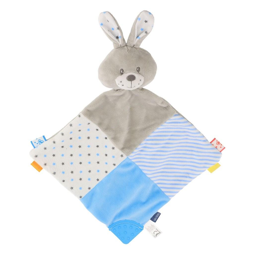 Usínáček Králík Baby Mix modrý