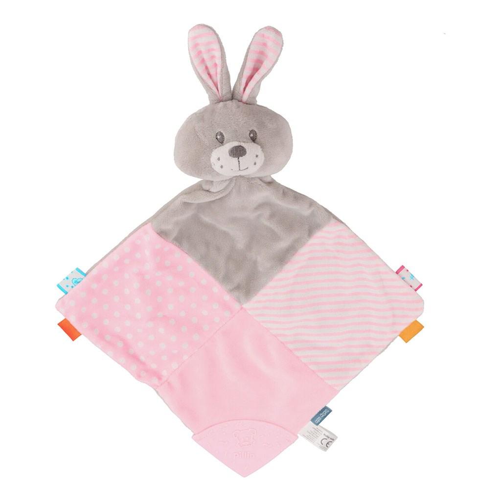 Usínáček Králík Baby Mix růžový