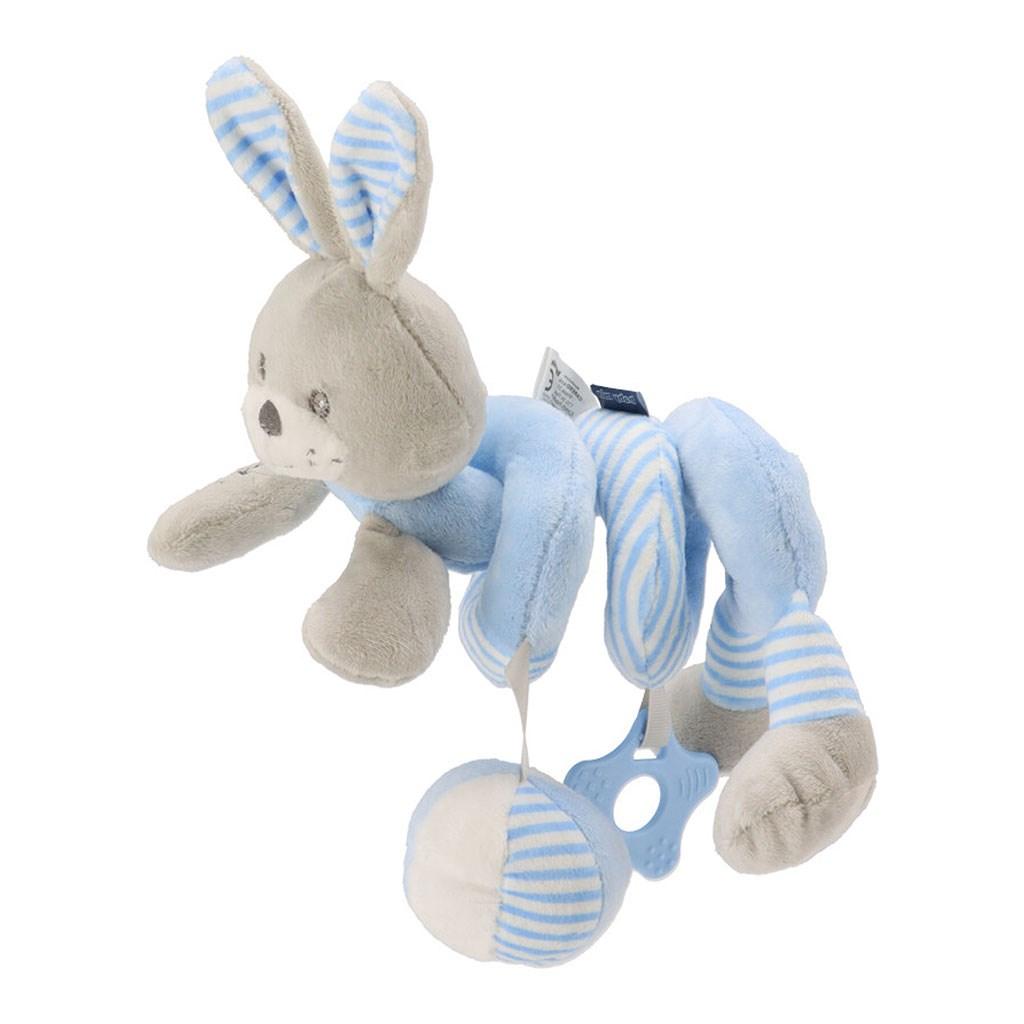 Hračka na postýlku Spirála Baby Mix králík modrý