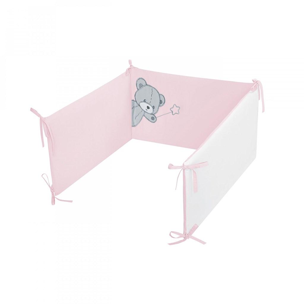 6-dílné ložní povlečení Belisima Teddy Bear 100/135 růžové