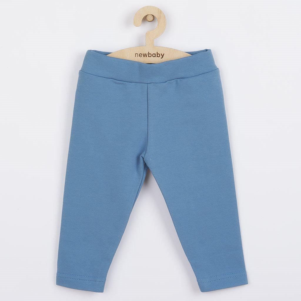 Kojenecké bavlněné legíny New Baby modré, 68 (4-6m)