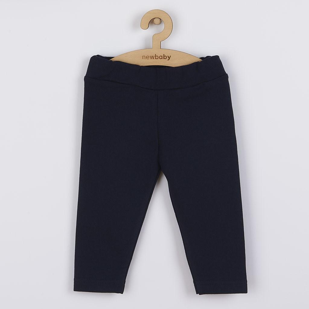 Kojenecké bavlněné legíny New Baby tmavě modré, 62 (3-6m)