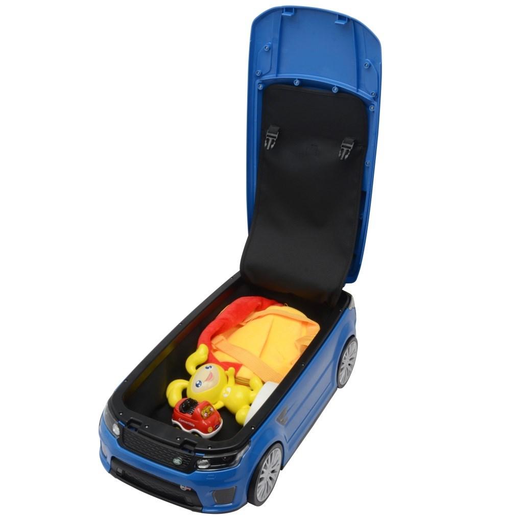 Dětské odrážedlo a kufřík 2v1 BAYO Range Rover SVR red