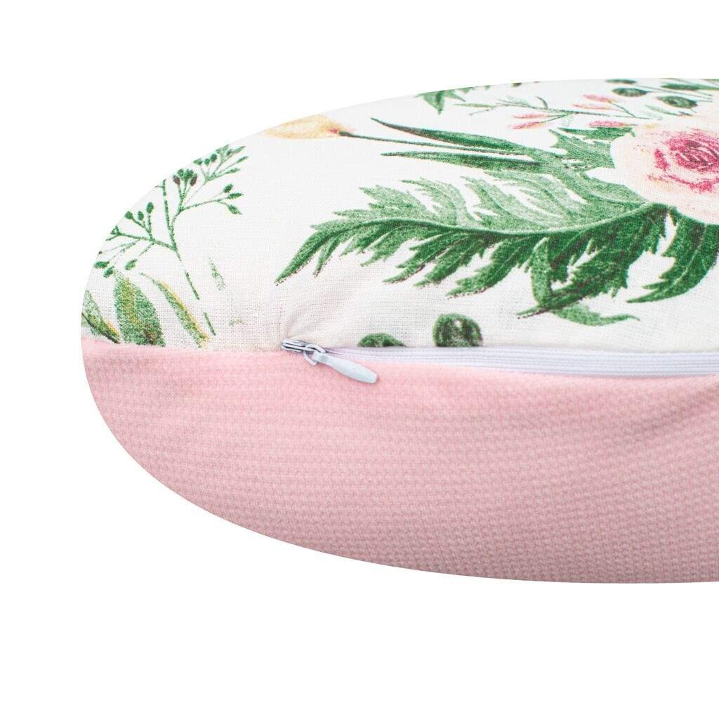 Kojící polštář New Baby Kočka Velvet růže