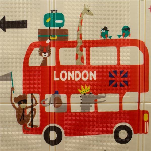 Multifunkční skládací hrací podložka PlayTo Londýn