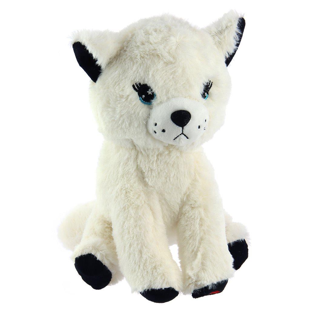 Plyšová hračka Baby Mix mňoukající kočička
