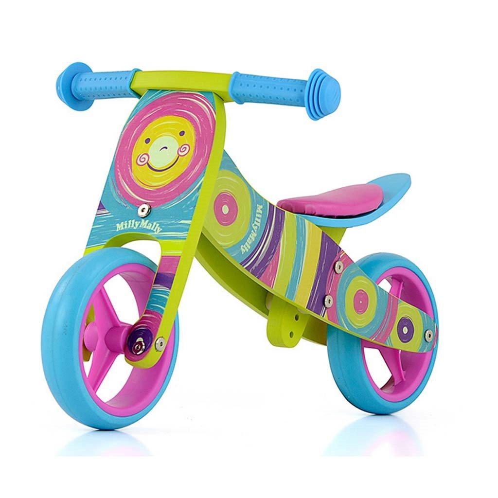 Dětské multifunkční odrážedlo kolo 2v1 Milly Mally JAKE Rainbow
