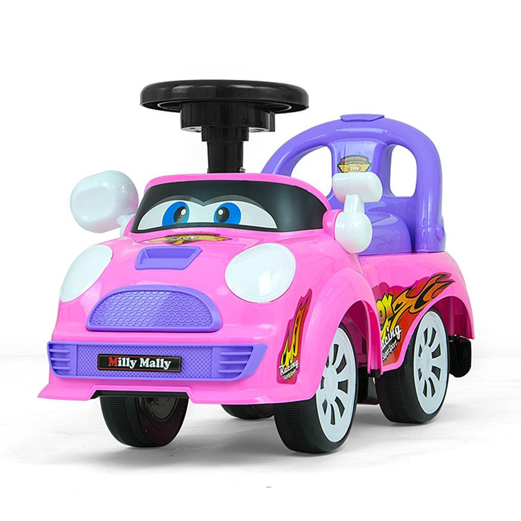 Dětské jezdítko se zvukem Milly Mally JOY pink-purple