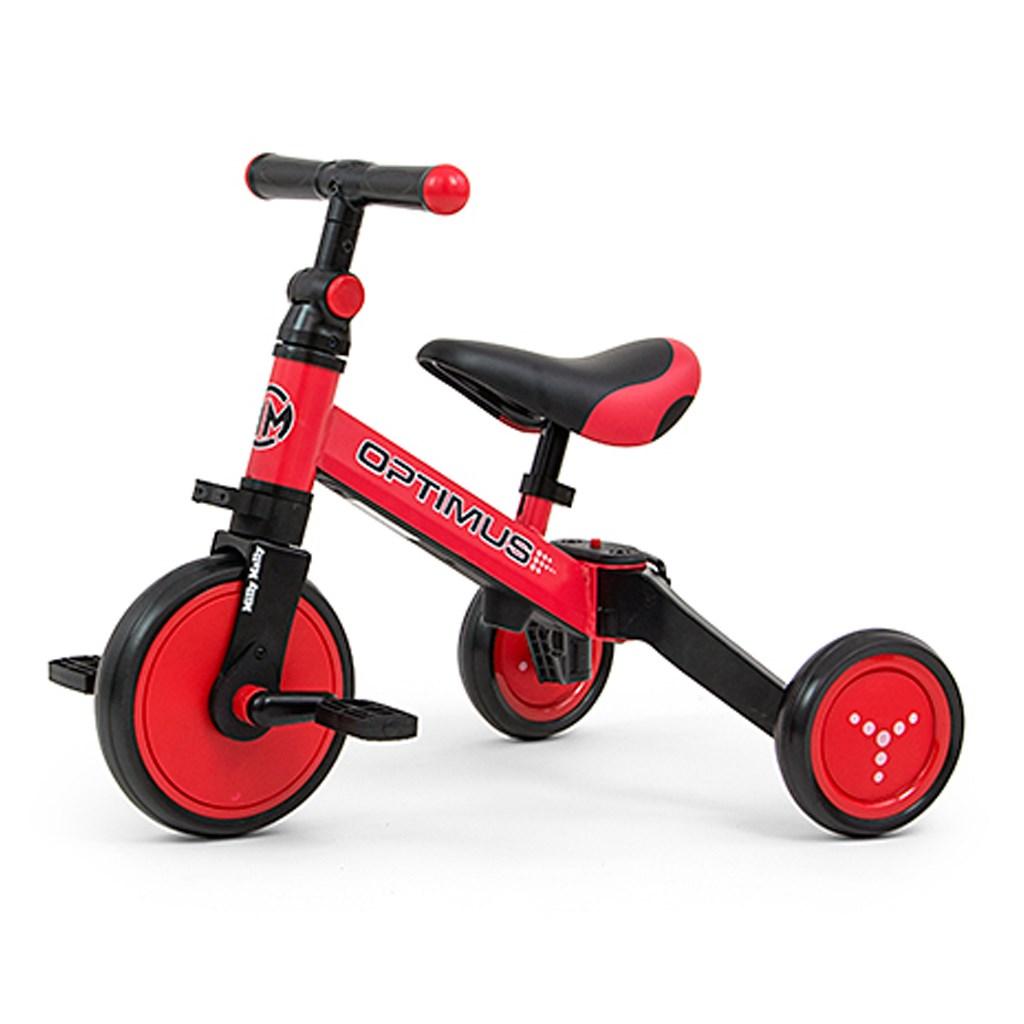 Dětská tříkolka 3v1 Milly Mally Optimus red
