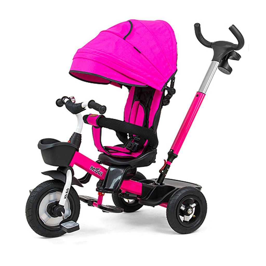Dětská tříkolka Milly Mally Movi pink