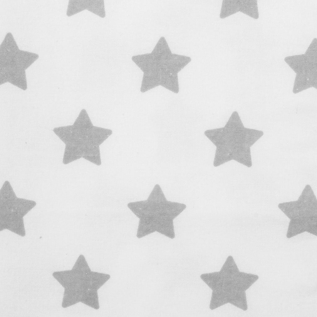 Nepromokavá flanelová podložka New Baby hvězdičky