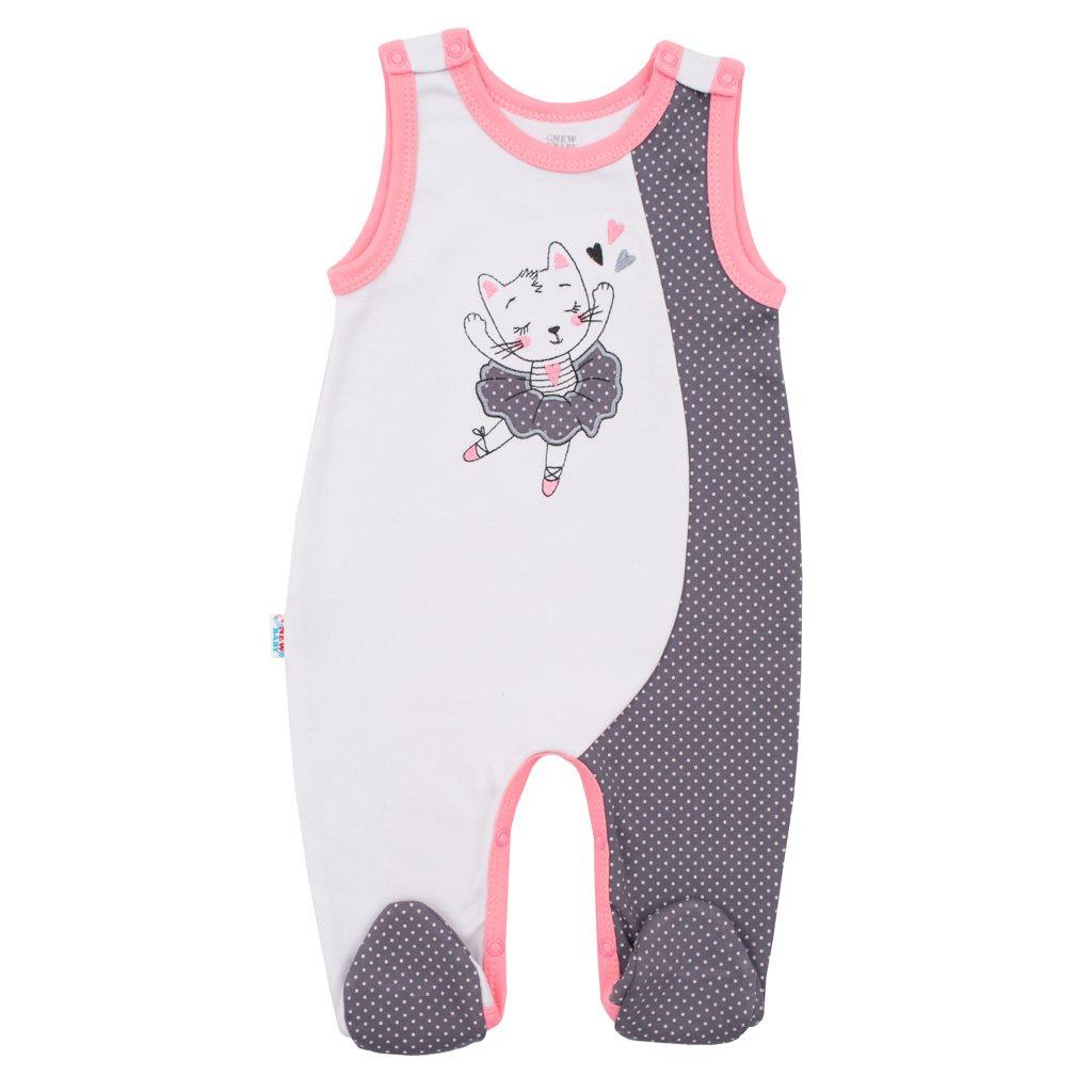 2-dílná bavlněná souprava New Baby Ballerina vel. 68 (4-6m)