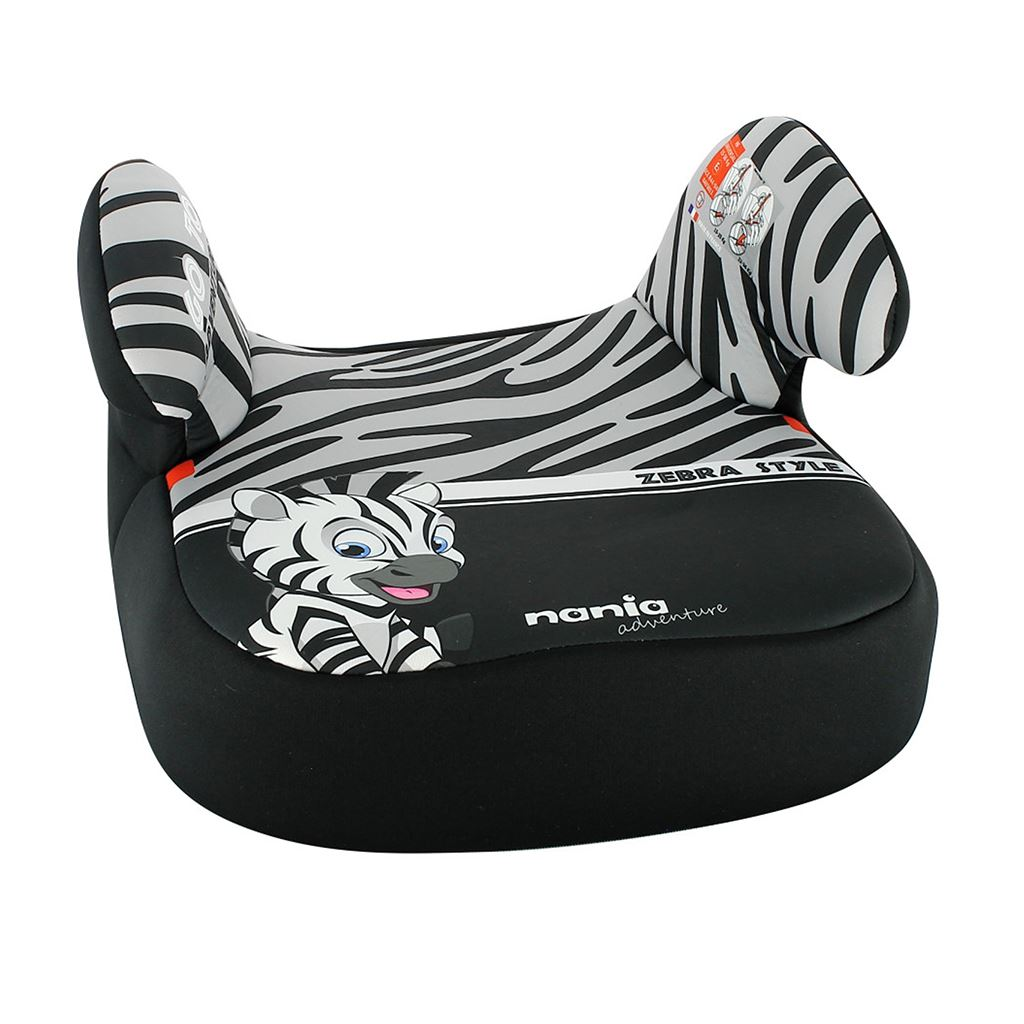 Autosedačka-podsedák Nania Dream Zebre 2020