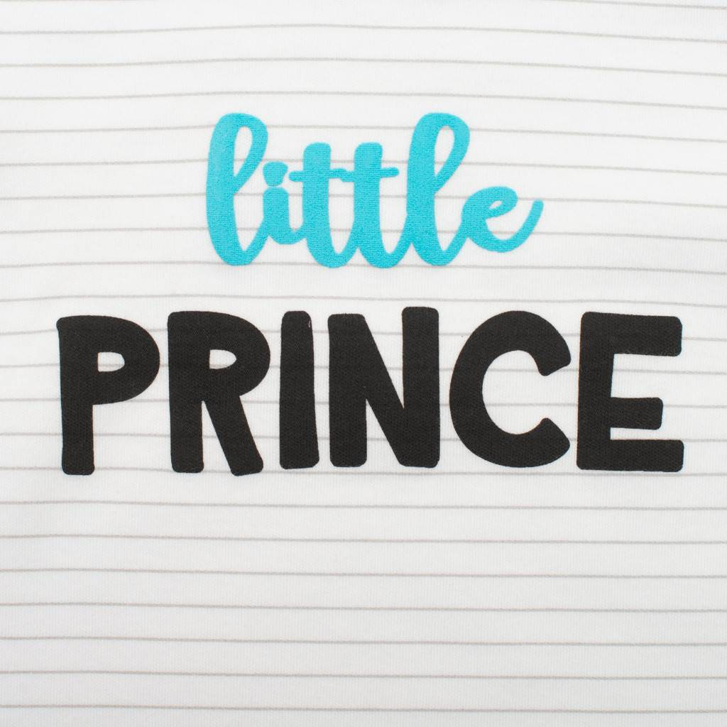 2-dílná bavlněná souprava New Baby Little Prince vel. 86 (12-18m)