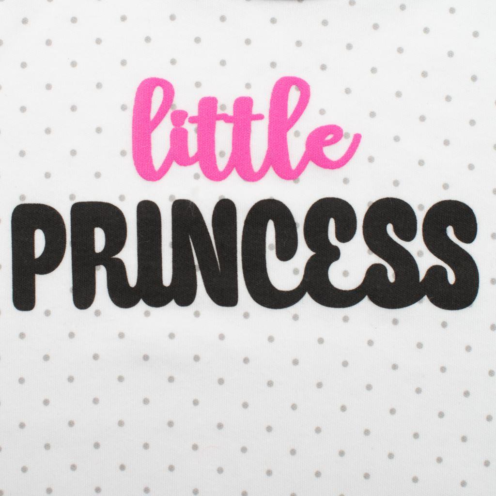 2-dílná bavlněná souprava New Baby Little Princess vel. 86 (12-18m)